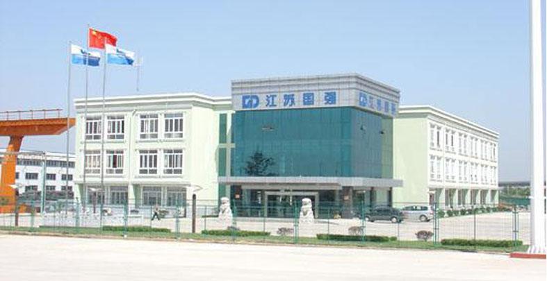 溧阳国强镀锌集团新建工业厂房案例