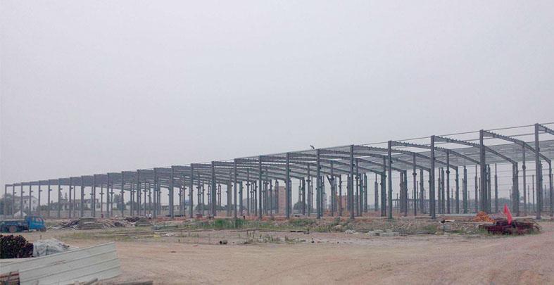 江苏永枫钢结构新建工业厂房