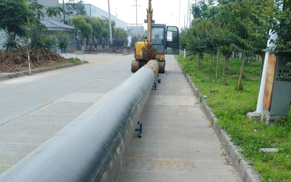 2018年溧阳市污水拖拉管道项目