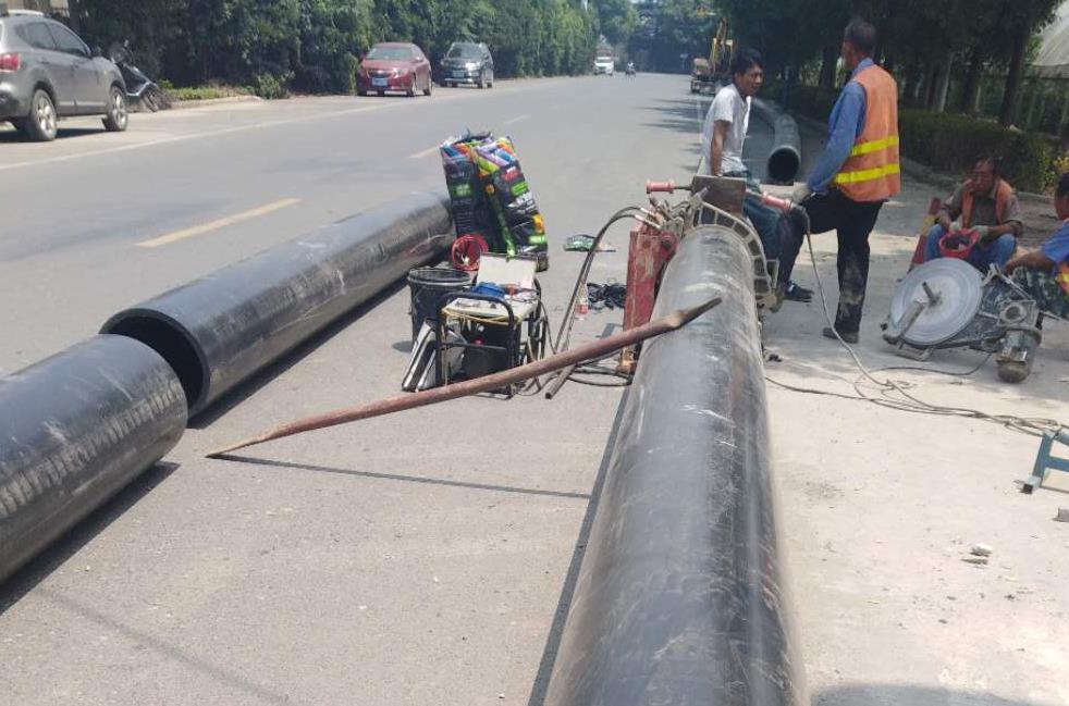 2018年常州市武进区坂上地区污水拖拉管道项目