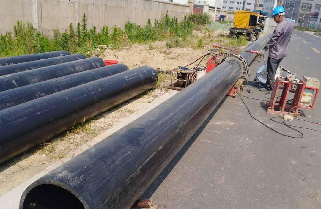 2018年常州市新北区污水改造拖拉管道项目