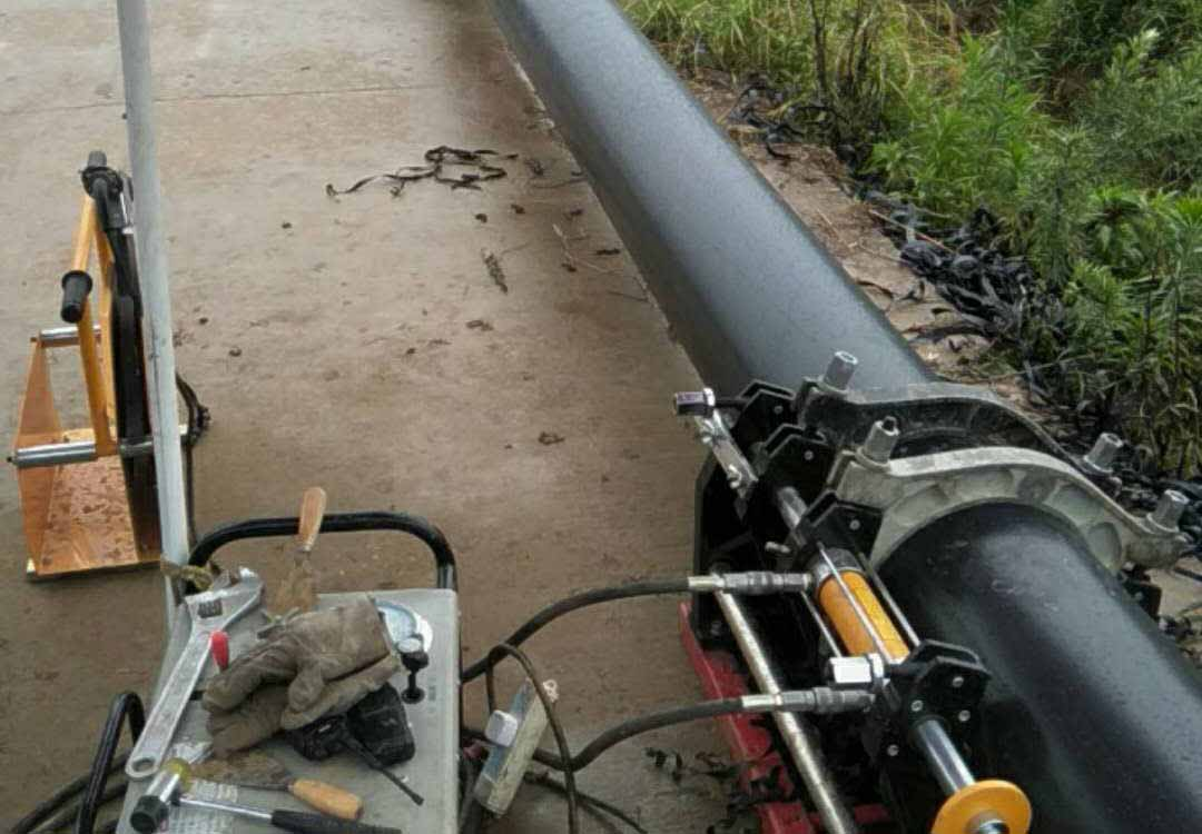 2018年常州市金坛区污水改造拖拉管道项目